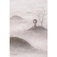 Открытка с конвертом В тумане
