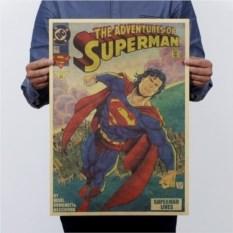 Плакат Приключения Супермена
