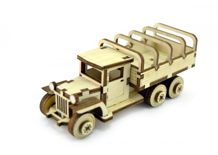Деревянный 3D конструктор Lemmo Советский грузовик