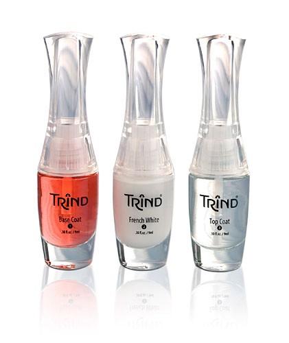 Набор для французского маникюра Trind, прозрачно-красный