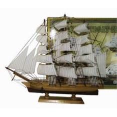 Декоративная модель из дерева HMS Bounty (высота 50 см)