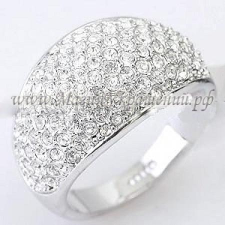 Кольцо с Сrystal Swarovski