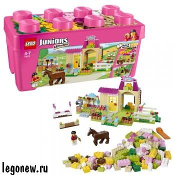 Конструктор Lego Juniors Пони на ферме