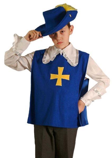 Карнавальный костюм Мушкетер, 6-10 лет