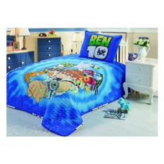 Детское 1.5-спальное покрывало Ben-10