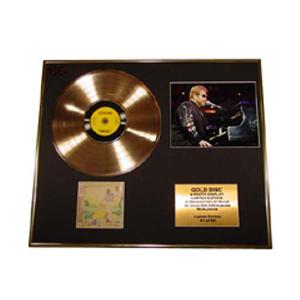 Золотой диск ELTON JOHN