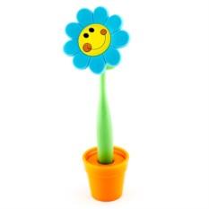 Шариковая ручка на подставке Большой цветок