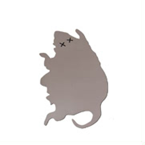 Коврик для мыши «Раздавленная крыса»