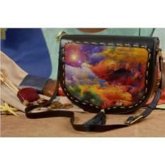 Женская сумка-седло с принтом Elole Design Волшебнй мир