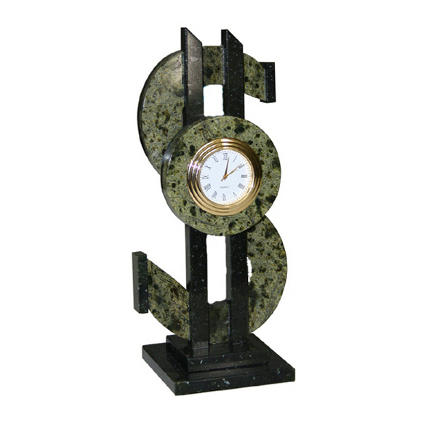 Часы из змеевика «Доллар»
