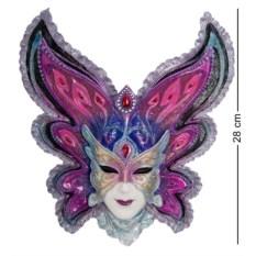 Венецианская маска Бабочка (цвет — сине-фиолетовый)