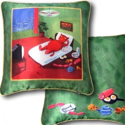 Декоративная подушка «Холостяцкое счастье»