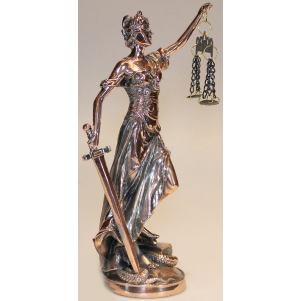 Статуэтка Богиня правосудия Фемида