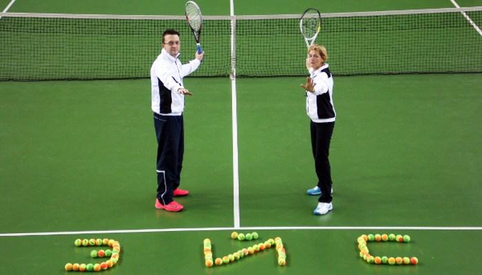 Большой теннис в теннисном клубе «Эйс»