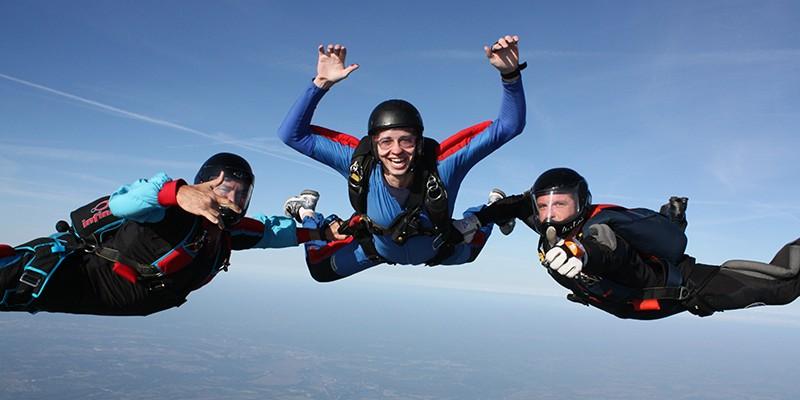 Сертификат Полный курс обучения прыжкам с парашютом