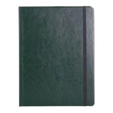 Тёмно-зелёная записная книжка Freenote в клетку