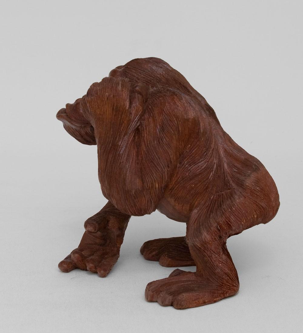 Статуэтка Довольная обезьяна (20 см)
