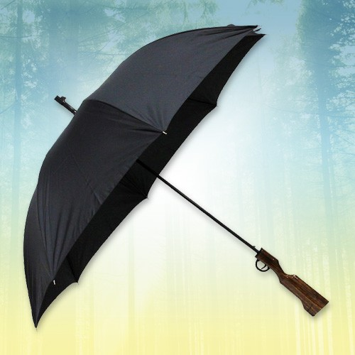 Зонт в виде ружья Против дождя