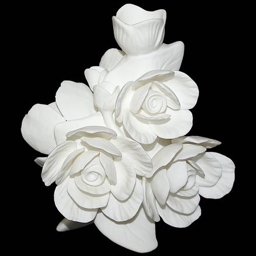 Ваза-подсвечник Королевские розы