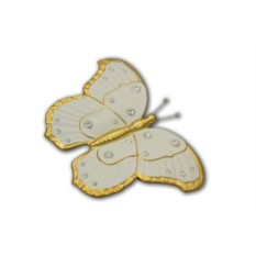 Декоративное изделие Белая бабочка Bruno Costenaro