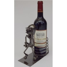 Декор бутылки Пожарный со стволом А.