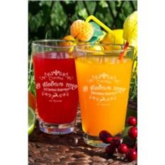 Набор бокалов для лимонада Счастья в Новом году