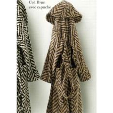 Элитный велюровый халат Chevron от Emanuel Ungaro
