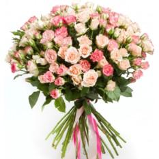 Букет цветов Дыхание нежности