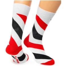 Белые носки Friday Spiral
