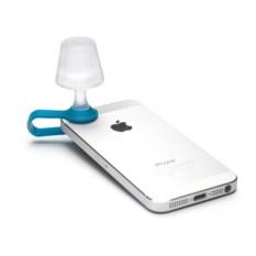 Голубой мини-ночник для мобильного телефона Luma