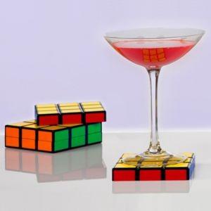Подставки под кружки Кубик Рубика (6 шт.)