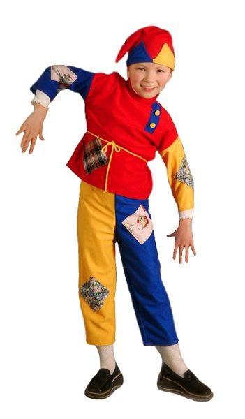 Карнавальный костюм Скоморох,  3-7 лет
