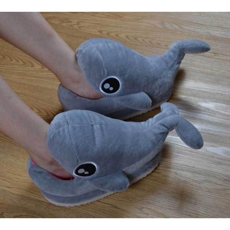 Мягкие тапочки Дельфинчик