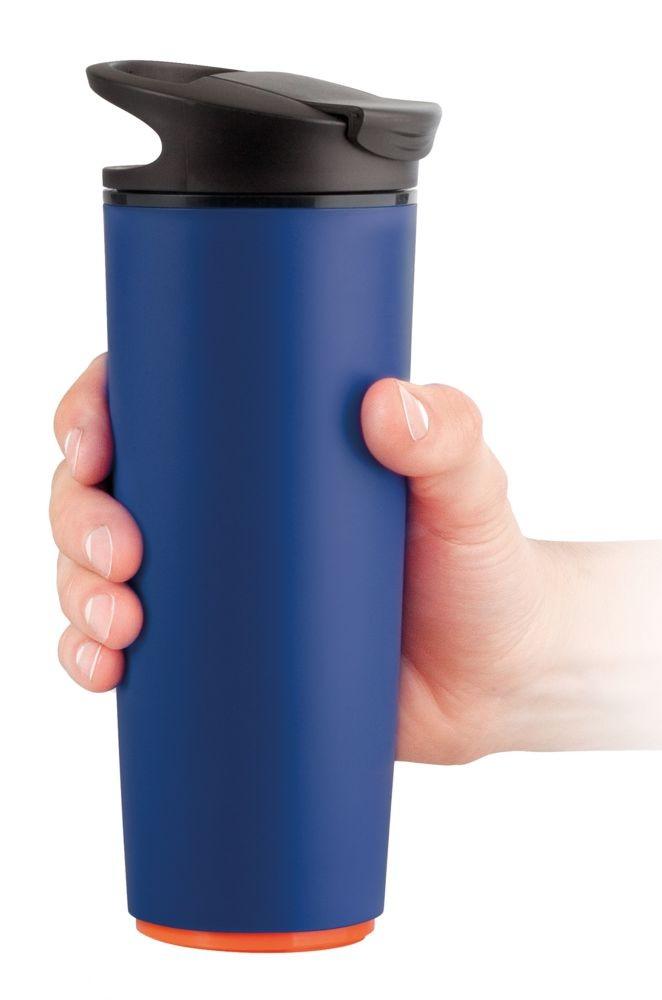Термокружка fixMug, синяя