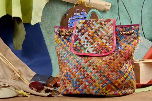 Кожаный рюкзак Осман (тип. 2)