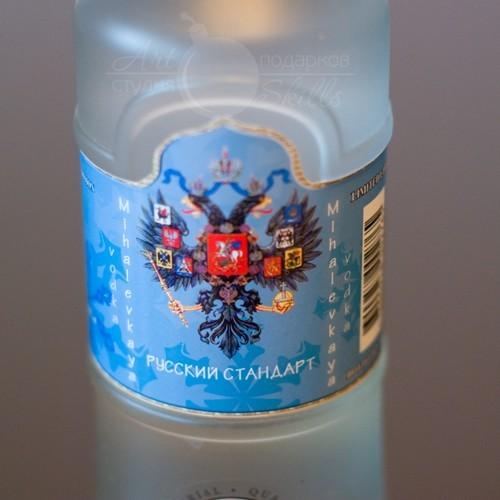Этикетка на водку  Русский Стандарт