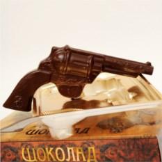 Шоколадный револьвер