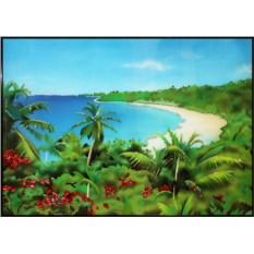 Картина с кристаллами Swarovski Тропический рай