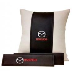 Набор из подушки, накладки на ремень безопасности Mazda