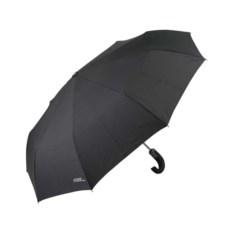 Черный складной автоматический зонт Cosy