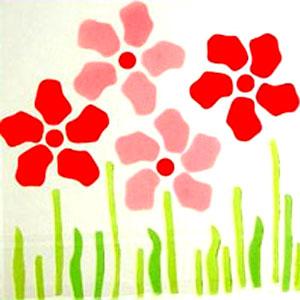 Весёлые цветы