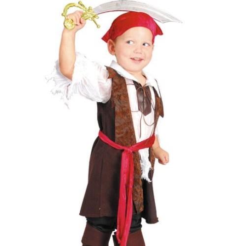 Костюм мальчика-пирата размер 3-4,4-6