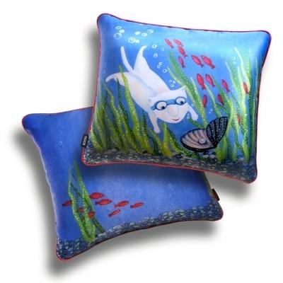 Декоративная подушка «Ловец счастья»