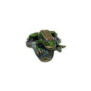 Шкатулка «Лягушка на цветке»