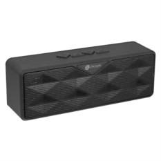 Черная беспроводная стереоколонка Oklick OK-30 с радио