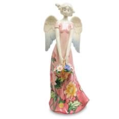 Фигурка Девушка-ангел в розовом платье