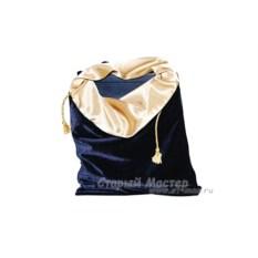 Подарочный мешочек, ультрамарин