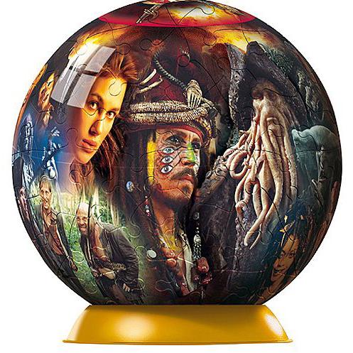 Шаровый пазл «Пираты Карибского моря»