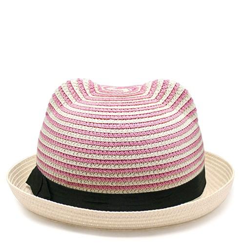 Шляпа Cat ears (белая с розовым)