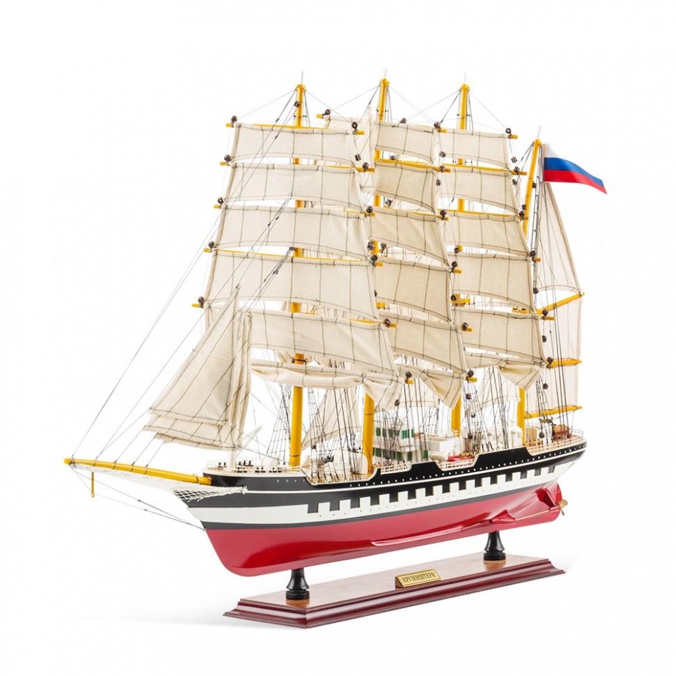 Модель корабля Крузенштерн